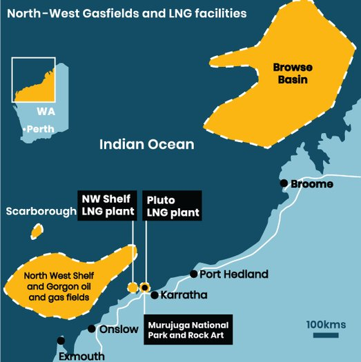 image of Don't approve the new Browse Basin and North West Shelf LNG projects