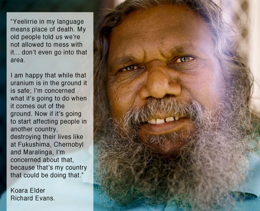 image of Stand up with Yeelirrie Traditional Owners